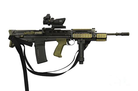 Army Home Decor by Sa80 L85a2 Rifle Variant Photograph By Andrew Chittock
