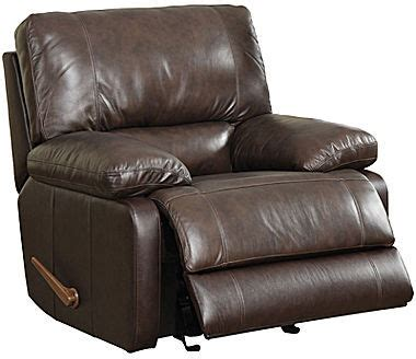 jc penney recliner jcpenney garrison faux leather rocker recliner