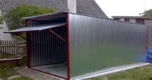multifunctionele prefab garage 3 x 5 meter met garage