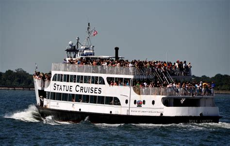 nyc statue of liberty ferry boat editorial photo image - Free Boat To Statue Of Liberty