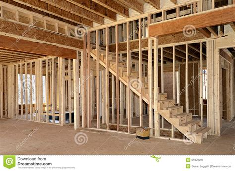 interior design for new construction homes new home construction interior stock photo image 51379397