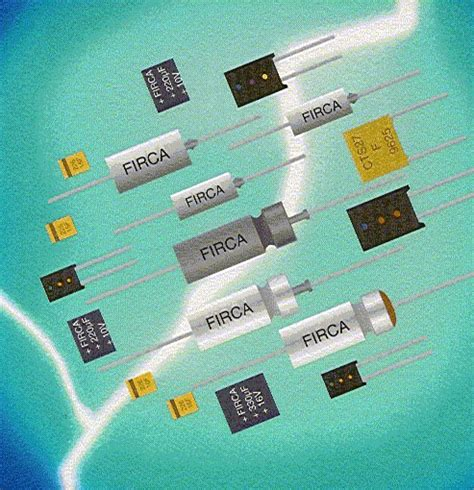 what are capacitors made of gb enterprises tantalum capacitors made by firadec