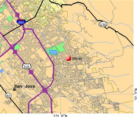 san jose demographics map 95148 zip code san jose california profile homes