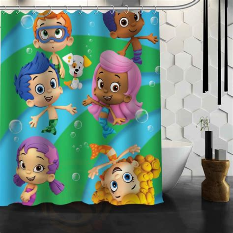 guppies bathroom decor popular bubble shower curtain buy cheap bubble shower