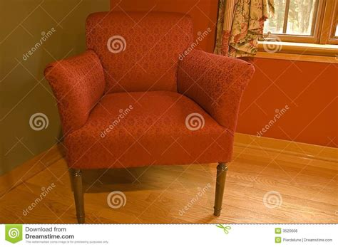 the red armchair the red armchair royalty free stock photos image 3520608
