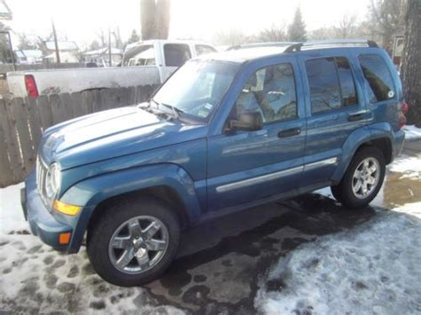 2006 Jeep Liberty Limited Sell Used 2006 Jeep Liberty Limited Sport Utility 4 Door 3