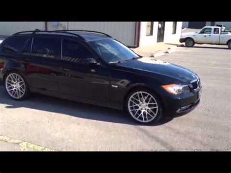 2007 BMW 328i Wagon 19 inch MRR Wheels GF07   YouTube