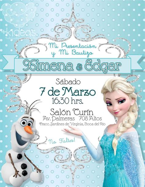 printable birthday invitations olaf frozen elsa y olaf tiffany invitaciones infantiles