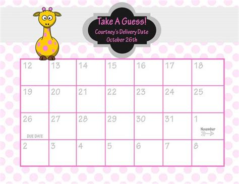 pink and gold baby shower birthday predictions printable baby