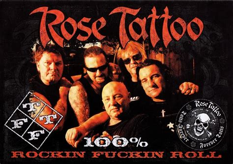 the band rose tattoo fanpage