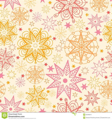 pattern vector background tutorial warm stars seamless pattern background stock vector