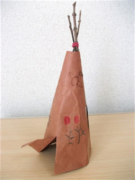Koas Band Disclose preschool crafts for american teepee tipi craft