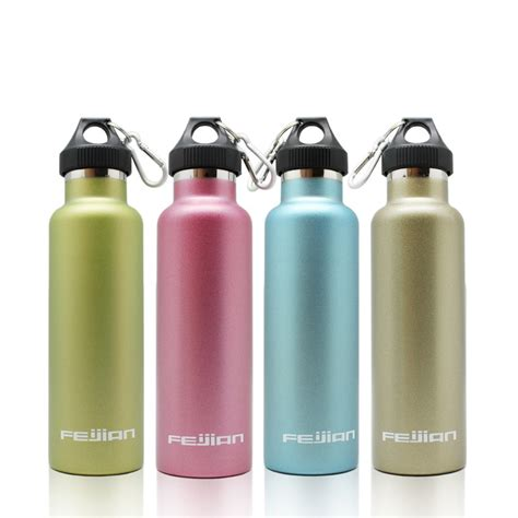 Termos Fleco T97 750ml Stainless Steel travel mug office tea coffee water cup bottle stainless steel thermos cup 750ml in water bottles