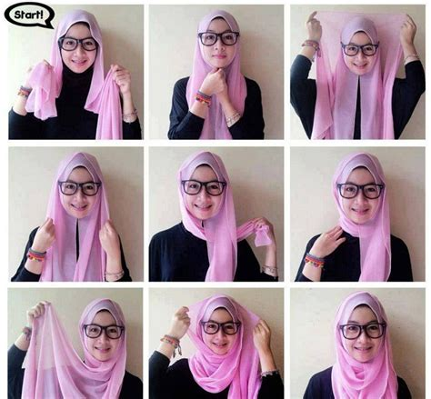tutorial hijab pashmina simple untuk anak smp best hijab styles designs for different face shapes