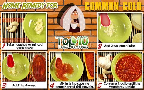 home remedies for common cold top 10 home remedies