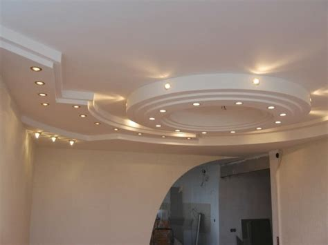 gypsum board false ceiling designs with built in suspended