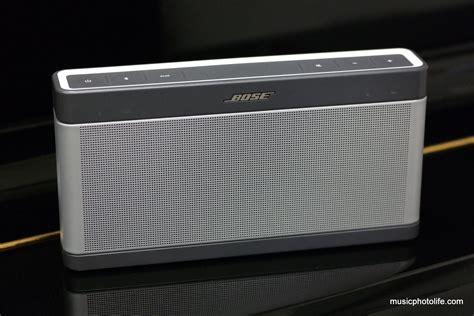 Speaker Bose Soundlink 3 bose soundlink bluetooth speaker iii review