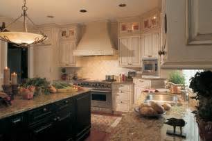 Country Style Tiles For Kitchens - french country white kitchen cabinets home design and decor reviews