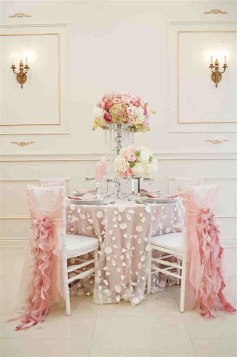 elegante deko pink wedding decor elegantwedding ca