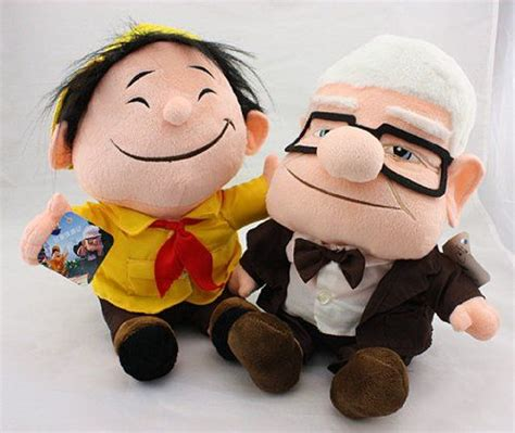 up film grandpa grandpa carl and russell from pixar movie up plush toy