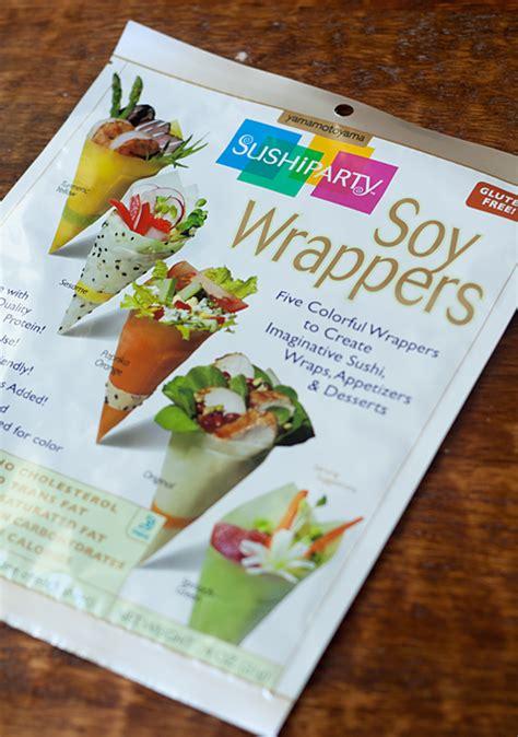 How To Make Sushi With Soy Paper - recipe mango sushi roll la fuji