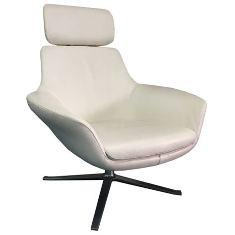 Bob Chair Steelcase Steelcase Brayton Bob Used Leather Lounge Chair White