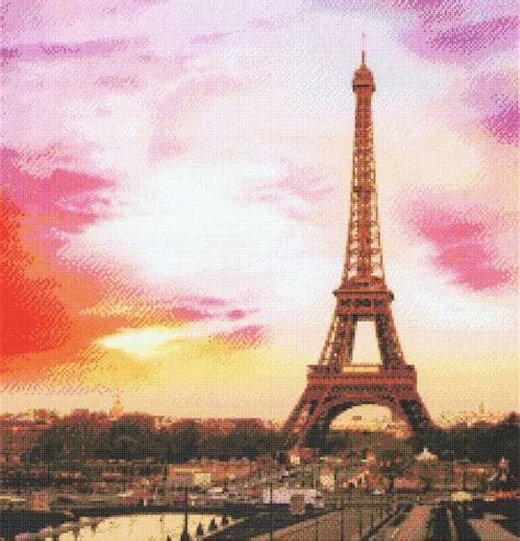 paris pattern works paris cross stitch pattern by kustom krafts