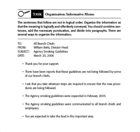 Business Letter And Memo Writing 21 business memo templates free sle exle format