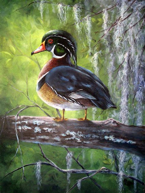 mary woodin england illustrator mallard ducks wood duck by mary mccullah