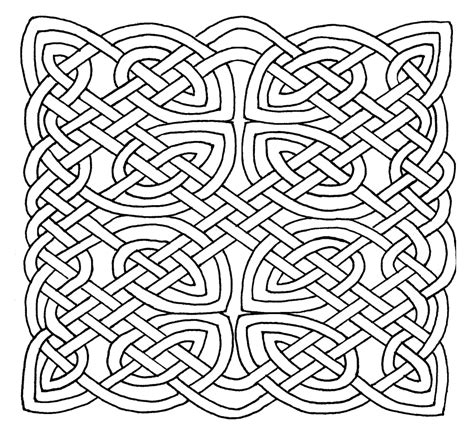 Coloring Pages Of Celtic Designs | celtic design coloring pages az coloring pages