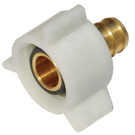 Pex To Faucet Connection by 1 2 In Brass Pex Barb X Swivel Adapter Uc526lfa On