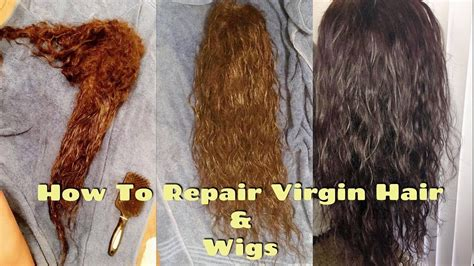 Hair Dryer Extensions how to repair matted damaged hair extensions