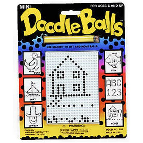 doodle balls magnetic drawing activity magnetic doodle balls revised adventure toys