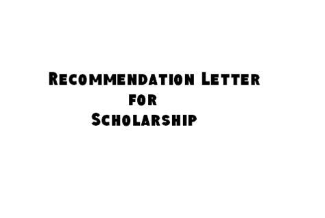 surat rekomendasi recommendation letter reference letter