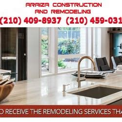 araiza construction and remodeling contractors san