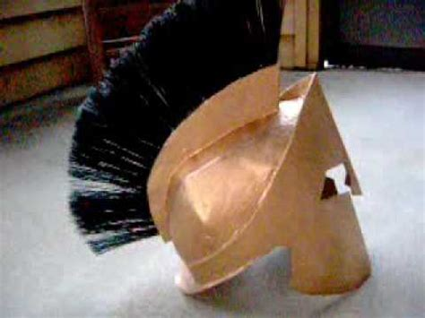How To Make A Spartan Helmet Out Of Paper - 300 king leonidas spartan helmet