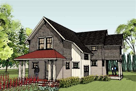 unique farmhouse plans simply elegant home designs blog new unique small house plan