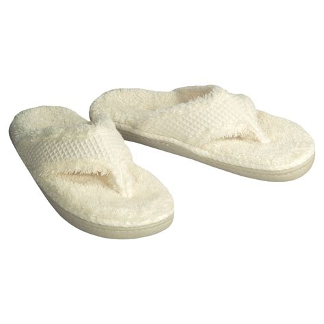 spa slippers acorn ahhh spa slippers for 1093z save 39