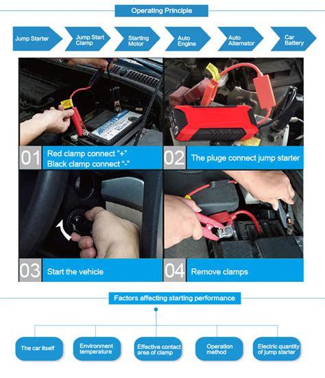Informasi Batery Faq terminal positif dan negatif klem baterai untuk portabel melompat starter mobil buy product on