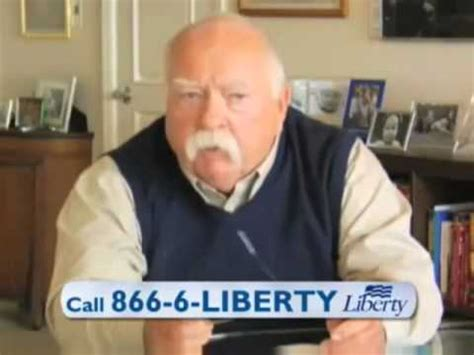 liberty diabetes spokesman wilford brimley gives moustache rides youtube