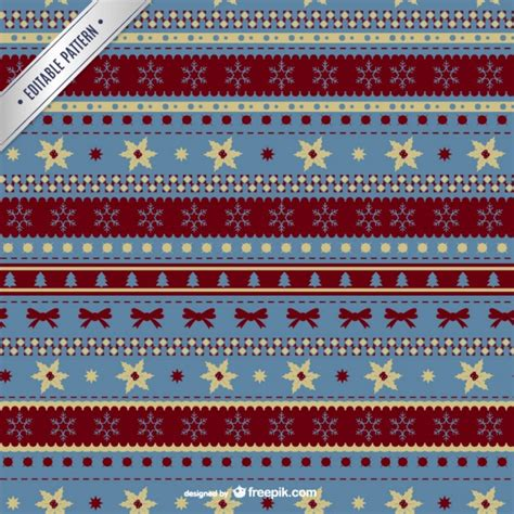 ornament pattern freepik christmas pattern with ornaments vector free download