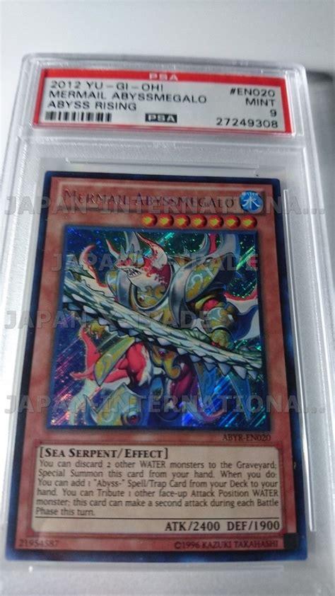 Mermail Abyssmegalo Abyr En020 Secret trading cards antique price guide