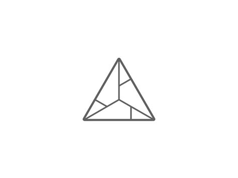 triangle pattern in javascript triangle logo animation by konya irohata dribbble