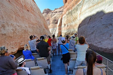antelope canyon excursion lake powell resort marinas - Lake Powell Canyon Boat Tours