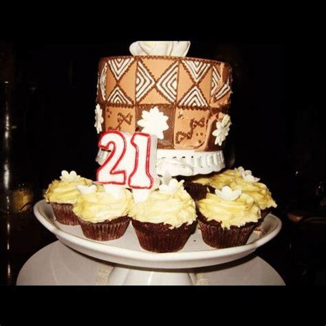 tribal pattern cake my 21st birthday cake tongan fijian tribal pattern