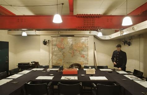 Secrets Of The Churchill War Rooms Londonist Churchill War Cabinet Rooms