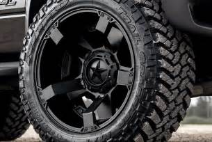 Xd Truck Rims And Tires Xd Series 174 Rockstar 2 Wheels Satin Black Rims