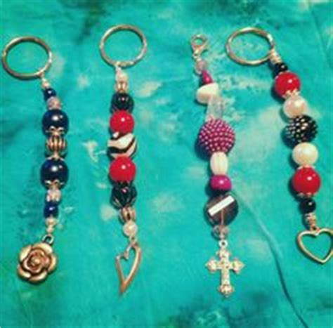 How To Make Handmade Keychains - 1000 images about handmade keychains on diy