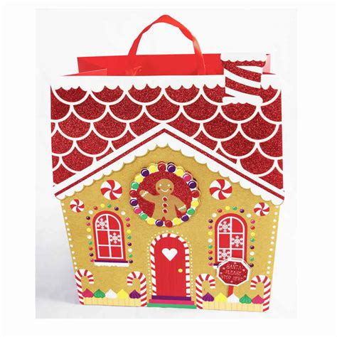 christmas gift bag wrapping paper bags present party