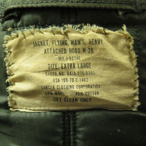 Teropong 40 X 70 Army vintage 70s n 2b flying parka mens xl fox fur us jacket green the clothing vault